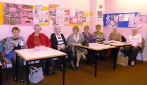 Ladies at the Mid Week Group Meeting