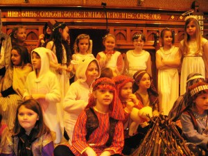 Brownies and Rainbows at the Nativity and Gift Service