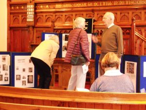Ivor and visitors to the Heritage Open Days